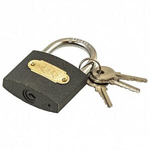 Piekaramā atslēga čuguna, pelēka 30mm