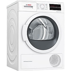 Bosch Dryer Machine WTW85L48SN  Energy efficiency class A++, Condensed, 8 kg, Condensation, LED, Depth 60 cm, White, SelfCleaning Condenser