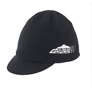 Cepure Force ziemas ar nagu melna (X)