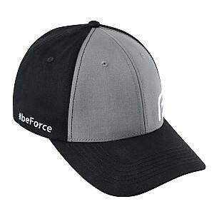 Cepure Force Beforce melna/pelēka