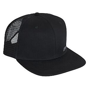 Cepure Force Trucker Logo melna
