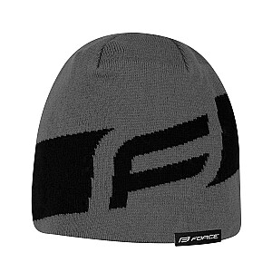 Ziemas cepure Force Dwarf melna/pelēka (Z)