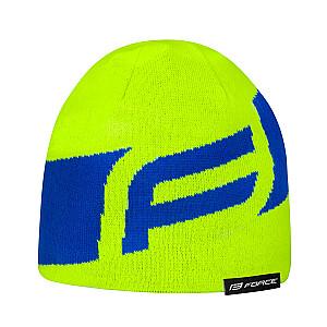 Ziemas cepure Force Dwarf elektro dzeltena/zila (Z)