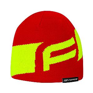 Ziemas cepure Force Dwarf sarkana/elektro dzeltena (Z)