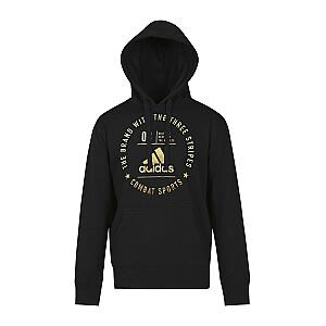 Džemperis Adidas Community melns/zelta