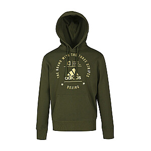 Džemperis Adidas Community zaļš/zelta