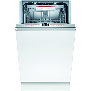 Bosch Serie 6 Dishwasher SPV6ZMX23E Built-in, Width 45 cm, Number of place settings 10, Number of programs 6, Energy efficiency class C, Display, AquaStop function, Grey