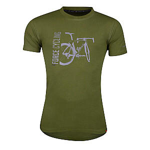 T-krekls Force Flow zaļš