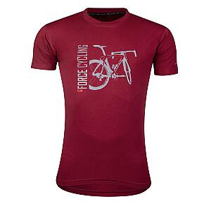 T-krekls Force Flow sarkans
