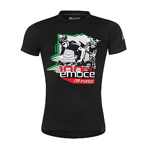 T-krekls Force Drasal melns