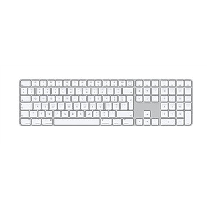 Apple Magic Keyboard with Touch ID and Numeric Keypad Wireless, International English, for Mac models with Apple silicon, Bluetooth