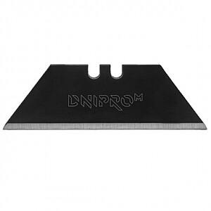Tapešu naža asmeņi, trapecveida, melni (10gab.) DNIPRO-M