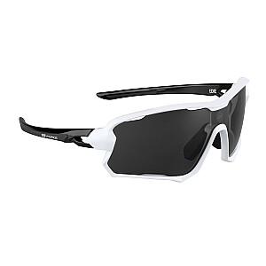 Sporta saulesbrilles Force Edie baltas/melnas ar melnām lēcām