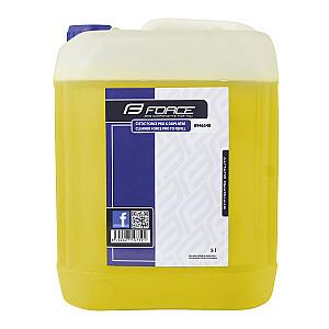 Tīrīšanas līdzeklis Force Pro 5L dzeltens