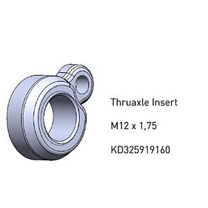 Ass uzgrieznis Focus Thru Axle Nut F.160219012