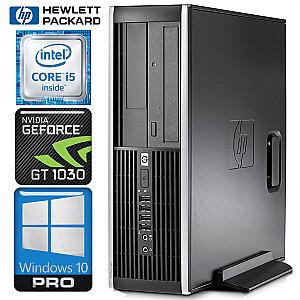 HP 8200 Elite SFF i5-2400 8GB 240SSD+1TB GT1030 2GB WIN10PRO/W7P