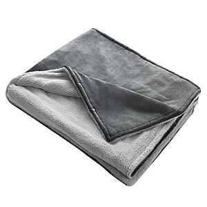Medisana 3in1 Heated blanket Blanket HB 677 Fleece, Grey