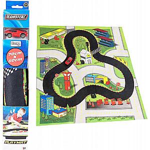 TEAMSTERZ 3 Spēļu paklājs ar automašīnu