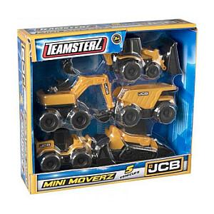 Игровой набор HTI 1416886 Строительная техника JCB серия Mini Moverz