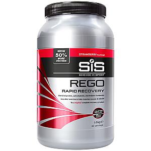 Dzēriena pulveris SIS Rego Rapid Recovery ar zemeņu garšu 1.6kg