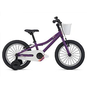 Bērnu velosipēds Liv Adore F/W 16 plūmju krāsā (2021.g.)
