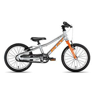 "Bērnu velosipēds Puky LS-PRO 16"" 1 sudraba/oranžs (4407)"