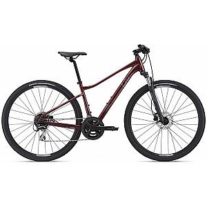 Woman Cross Bike Liv Rove 3 DD sarkans (2021.g.) Rāmja izmērs: S