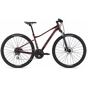 Woman Cross Bike Liv Rove 3 DD sarkans (2021.g.) Rāmja izmērs: M