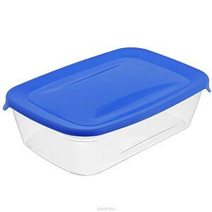 Pārtikas trauciņš taisnstūris 1L Fresh&Go zils