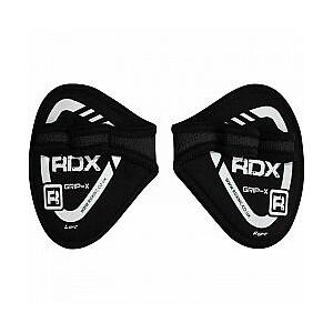 RDX China Grippi fitnesa cimdi melni (X)
