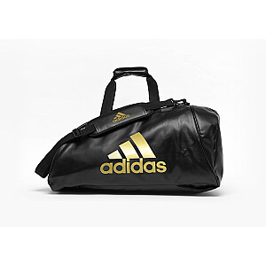 Sporta soma Adidas 2in1 Medium melna/zelta