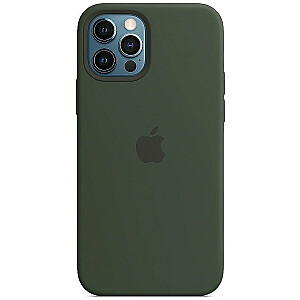 MOBILE COVER SILICONE GREEN/IPHONE 12 PRO APPLE