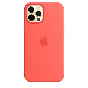 MOBILE COVER SILICONE PINK/IPHONE12/12PRO APPLE