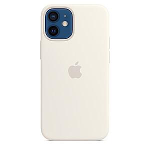 MOBILE COVER SILICONE WHITE/IPHONE12 MINI APPLE