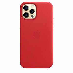 MOBILE COVER LEATHER RED/IPHONE 12 PRO MAX MHKJ3 APPLE