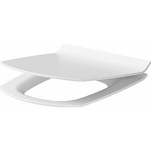 Cersanit Carina Slim tualetes sēdeklis mīksti aizverams balts (K98-0135)