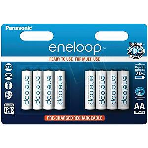 Panasonic Akumulators Eneloop AA / R6 1900mAh 8szt.