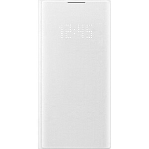 Samsung View LED maciņš priekš Samsung Galaxy Note 10 balts (EF-NN970PWEGWW)