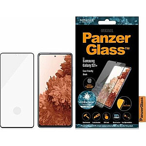 PanzerGlass rūdīta stikla E2E pirkstu nospiedums priekš Galaxy S21 +