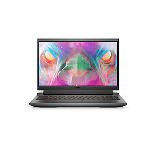 "Dell G15  15 5510 Dark Grey, 15.6 "", WVA, FHD 120Hz, 1920 x 1080, Anti-glare, Intel Core i5, i5-10500H, 16 GB, SSD 512 GB, NVIDIA GeForce RTX3050, GDDR6, 4 GB, No Optical drive, Windows 10 Home, 802.11ax, Bluetooth version 5.1, Keyboard language Eng"
