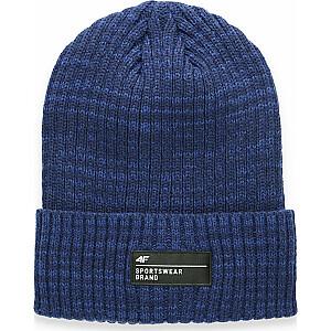 4f ziemas cepure H4Z20-CAM006 tumši zila M izmērs