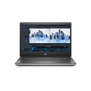 "Dell Mobile Precision 7560  Silver, 15.6 "", IPS, FHD, 1920 x 1080 pixels, Anti-glare, Intel Core i7, i7-11800H, 8 GB, DDR4, SSD 256 GB, NVIDIA RTX A2000, GDDR6, 4 GB, No ODD, Windows 10 Pro, 802.11ax, Bluetooth version 5.2, Keyboard language English"