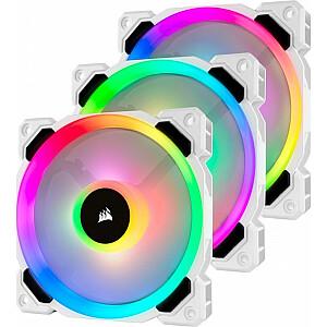 Corsair LL120 RGB 120mm 3-pack + Hub (CO-9050092-WW)