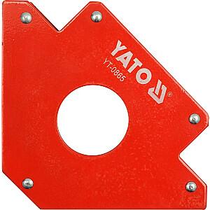 Yato metināšanas magnētiskais kvadrāts 122x190x25mm 34kg (YT-0865)