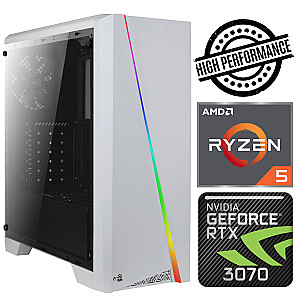 INTOP Ryzen 5 5600X 8GB 480SSD M.2 NVME+2TB RTX3070 8GB no-OS