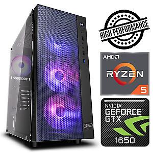 INTOP Ryzen 5 5600X 8GB 480SSD M.2 NVME+2TB GTX1650 4GB no-OS