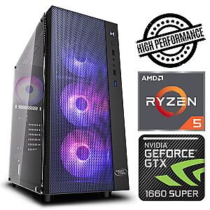 INTOP Ryzen 5 5600X 8GB 240SSD M.2 NVME+2TB GTX1660 SUPER 6GB no-OS