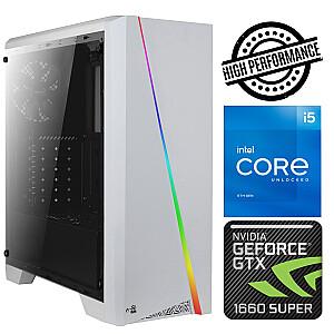 INTOP i5-11600K 16GB 480SSD M.2 NVME GTX1660 SUPER 6GB no-OS