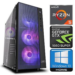 INTOP Ryzen 5 5600X 32GB 480SSD M.2 NVME+1TB GTX1660 SUPER 6GB WIN10