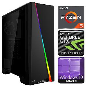 INTOP Ryzen 5 5600X 32GB 480SSD M.2 NVME+2TB GTX1660 SUPER 6GB WIN10Pro